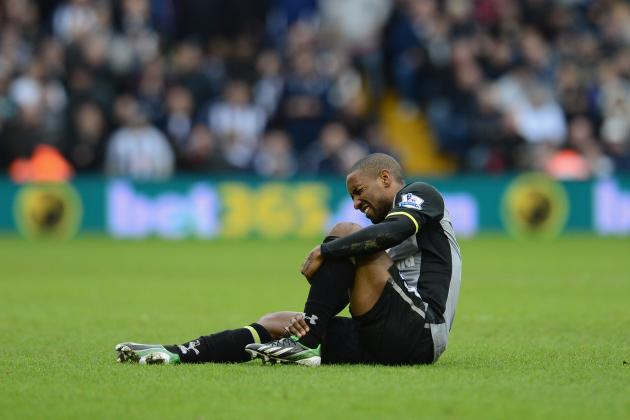 Injury KO's Defoe for Three Weeks