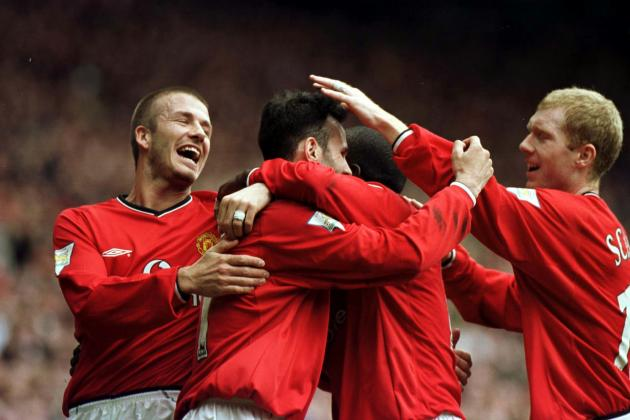 David Beckham Hoping to Emulate Ryan Giggs and Paul Scholes at PSG