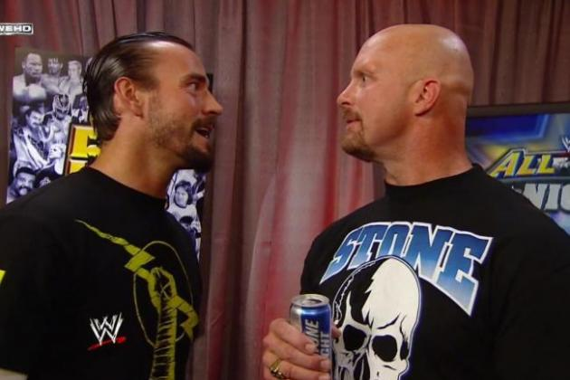 CM Punk: Why His Straight-Edge Lifestyle Will Lead to a Match with Steve Austin