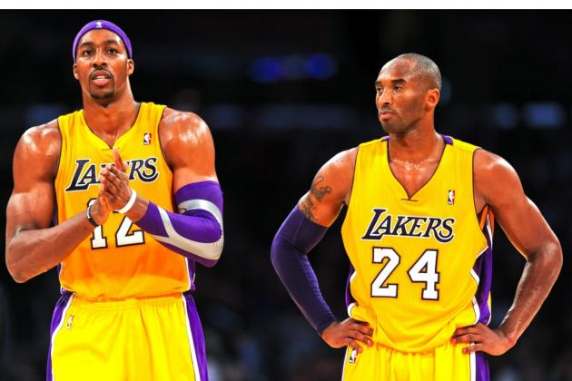 Kobe Says Dwight Should Play Through It