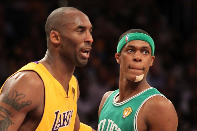 Kobe Bryant 'Loves' Everything About Rajon Rondo, Dishes Lakers-Celtics and More