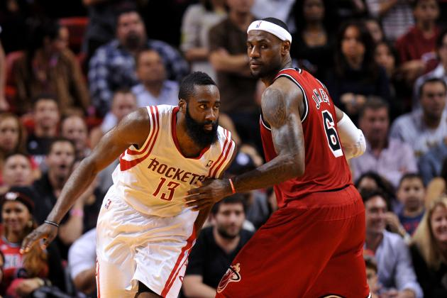 LeBron James' Endorsement of James Harden Proves Rockets Star Among NBA's Elite