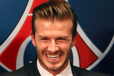 David Beckham Hopes to Emulate Manchester Uniteds Veterans at PSG