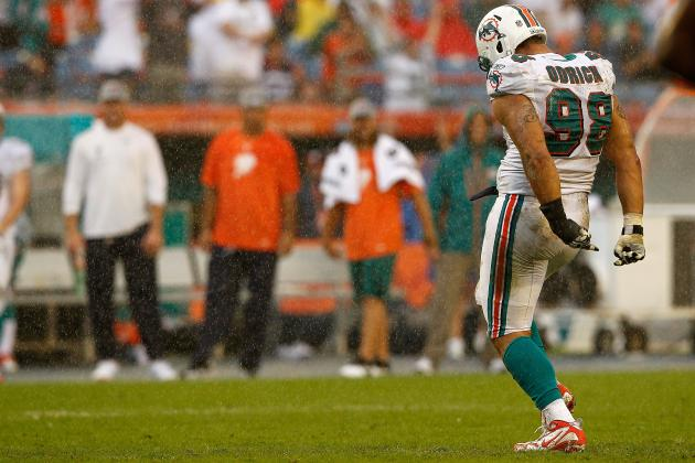 Miami Dolphins Should Move Jared Odrick Inside, and Other AFC East News