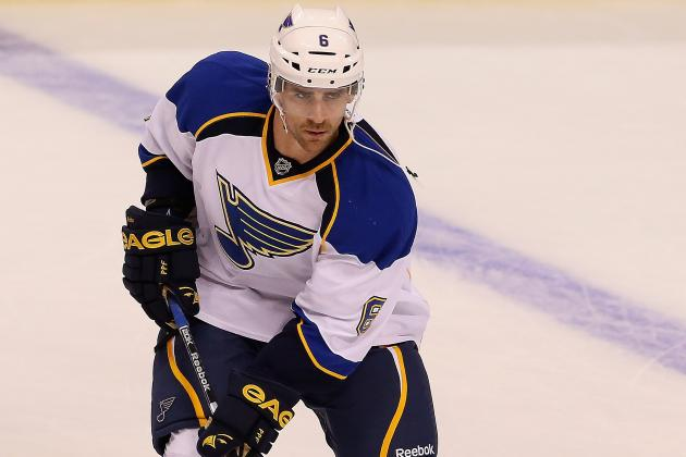 St. Louis Blues D-Man Wade Redden Stayed with It to Reach 1,000 NHL Games