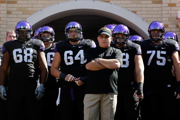 TCU Sells Area Recruits on Staying with the Home Team