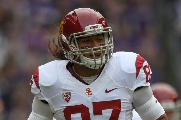 USC Football: TE Junior Pomee Charged with Felony Grand Theft