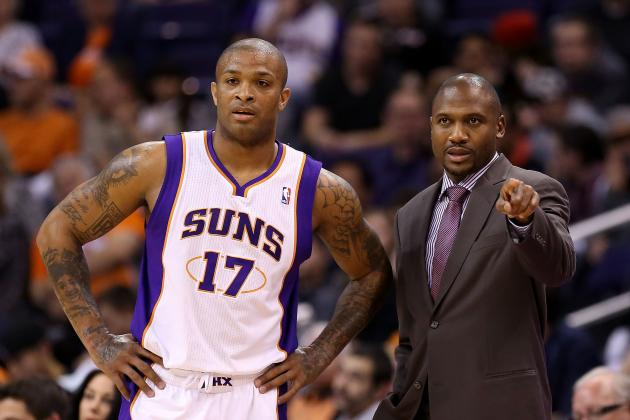 Work Ethic, Same Goal United Phoenix Suns' Lance Blanks, Lindsey Hunter