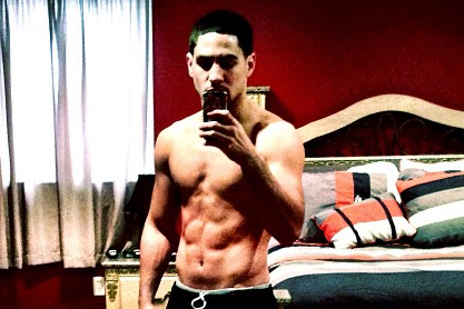 Instagram: Shirtless Garcia Prooves He's in Shape