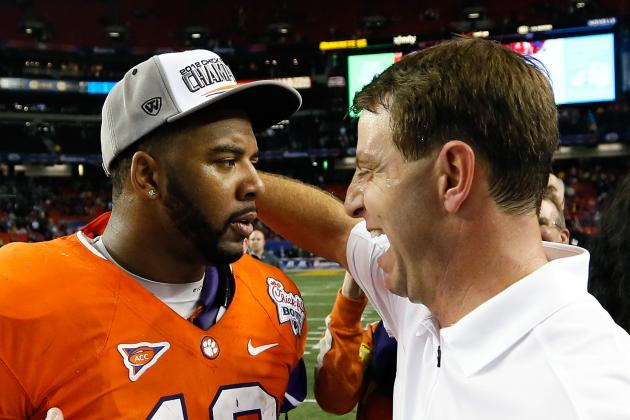 Jeff Scott Says 'Personable' Dabo Swinney a Deal-Sealer for Tigers