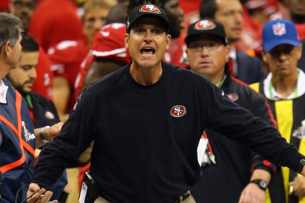 49ers' Harbaugh, Giants' Cain Grouped at Pebble Beach Pro-Am