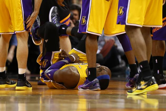 Dwight Howard Injury: Lakers Have Nothing to Lose by Rushing Howard Back