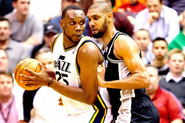 Al Jefferson Could Be Traded to San Antonio Spurs by Utah Jazz
