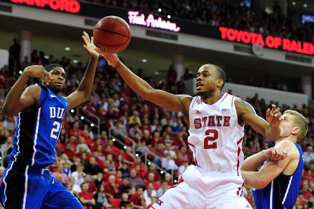 NC State's Lorenzo Brown to Miss Duke Game Barring 'miracle'