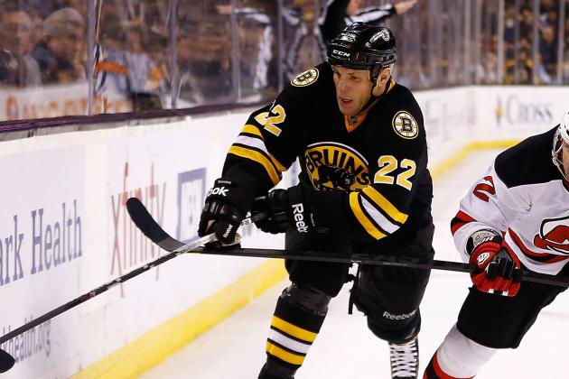 Bruins Enforcer Thornton Cleared for Contact