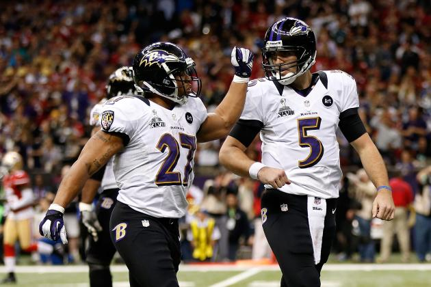 Ray Rice Touts Joe Flacco as Best Quarterback in NFL