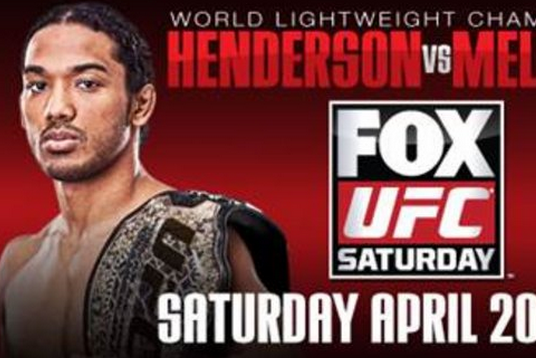 Pic: UFC on FOX 7 Poster First Look for 'Henderson vs Melendez'