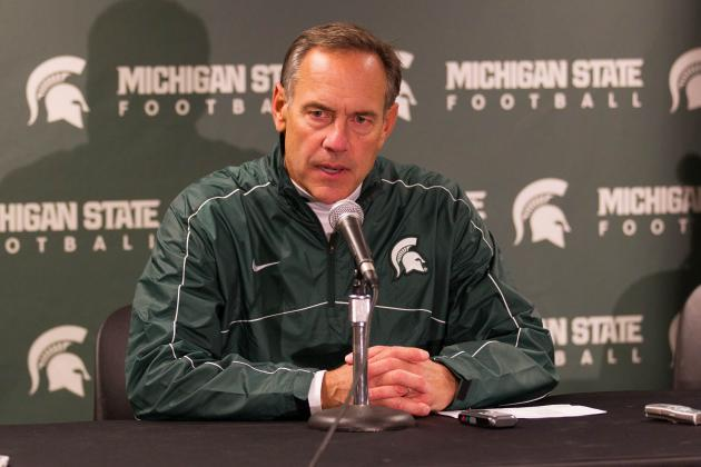 Dantonio Not Concerned Michigan State's Recruiting Class Isn't Highly Ranked