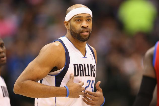 Mavericks Assure Vince Carter He Will Not Be Traded