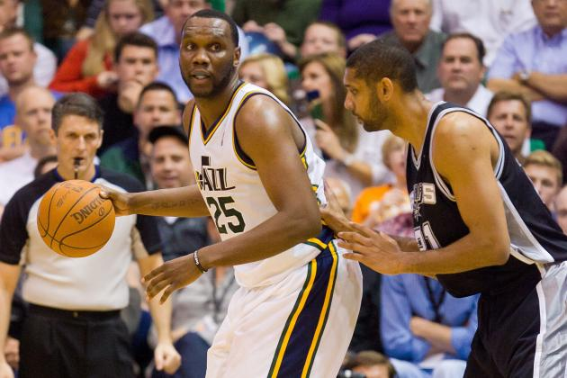 NBA Rumors: Al Jefferson Would Make Spurs Favorites over OKC