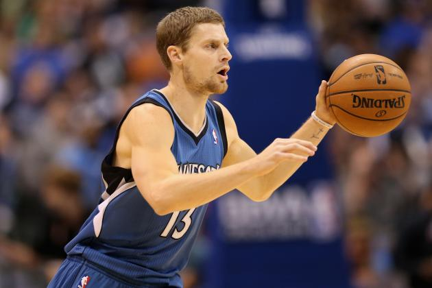 NBA Trade Rumors: Minnesota's Luke Ridnour on the Move?