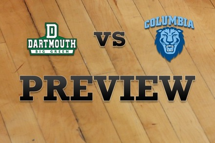 Dartmouth vs. Columbia: Full Game Preview