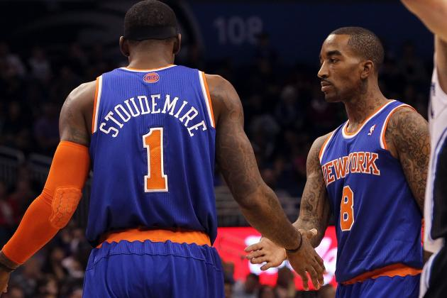 J.R. Smith or Amar'e Stoudemire, Who's the NY Knicks' Most Critical Bench Piece?