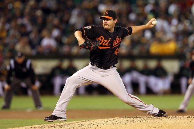 Report: Seattle Mariners Sign Left-Hander Joe Saunders to One-Year Deal