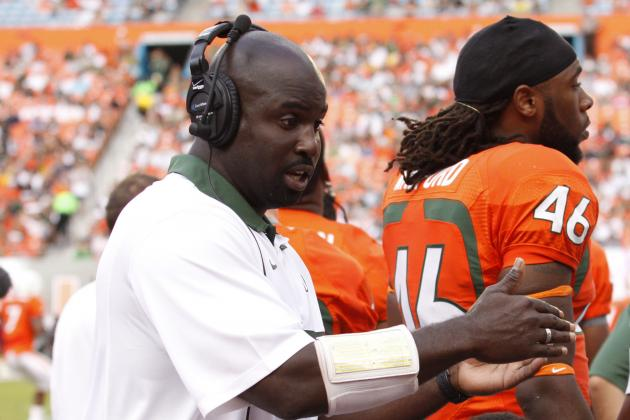 Miami RB Coach Richardson Taking Jags Job