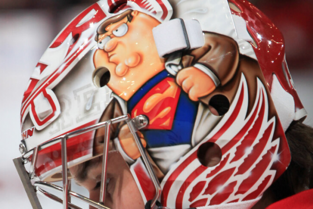 Red Wings to Start Petr Mrazek in Goal with His Cool Mask