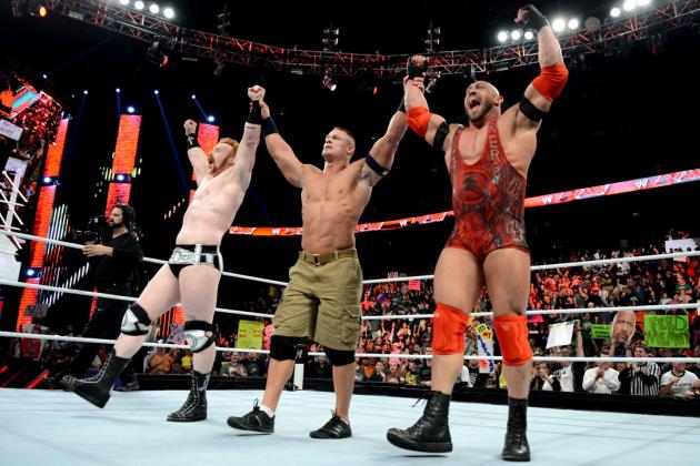 John Cena, Sheamus & Ryback vs. the Shield at Elimination Chamber Was Inevitable