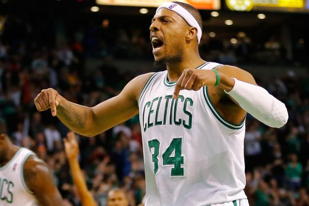 Vintage Pierce Leads Celtics to 116-95 Win over Lakers
