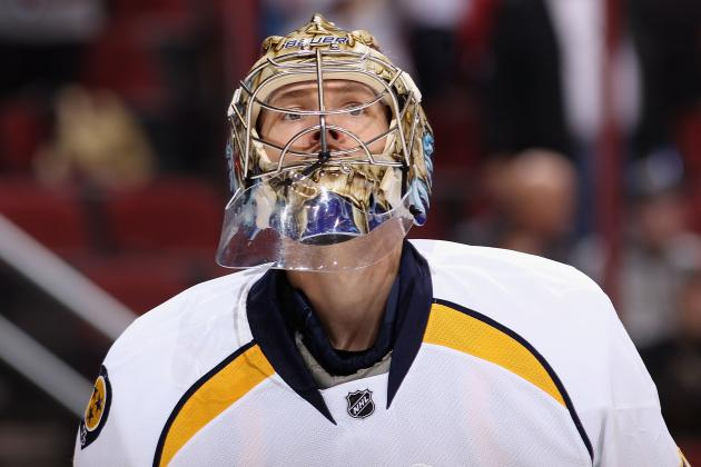 Rinne Makes 32 Saves as Predators Blank Kings