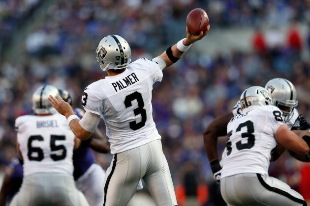 Why the Oakland Raiders Should Cut Carson Palmer