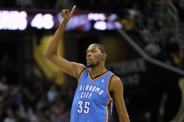 Making the Definitive Case for Kevin Durant as NBA MVP