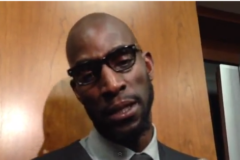 Kevin Garnett: 'If It's Up to Me, I'm Going to Retire a Celtic'