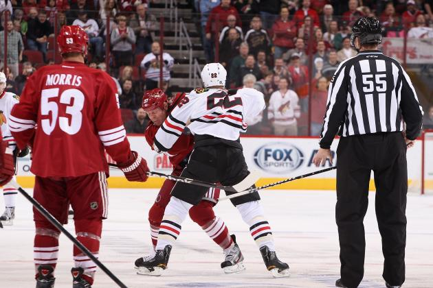 Hawks Nail Torres, and Then Drill Coyotes 6-2