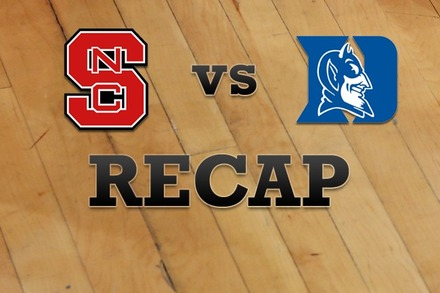 NC State vs. Duke: Recap, Stats, and Box Score
