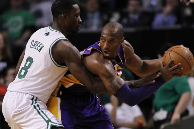Lakers go quietly against Celtics, 116-95