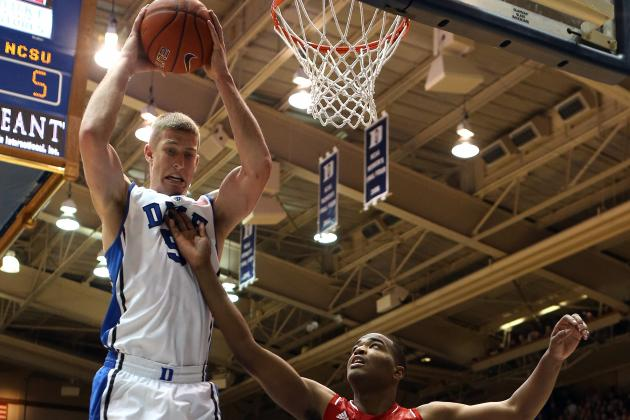 Plumlee Adds Balance to Blue Devils' Attack