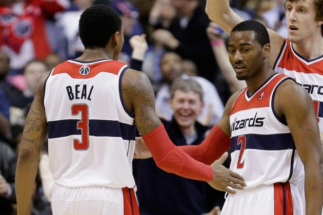 Grading John Wall & Bradley Beal's First 5 Games Together for Washington Wizards