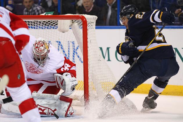 Petr Mrazek Shines in Debut as the Detroit Red Wings Beat the St. Louis Blues
