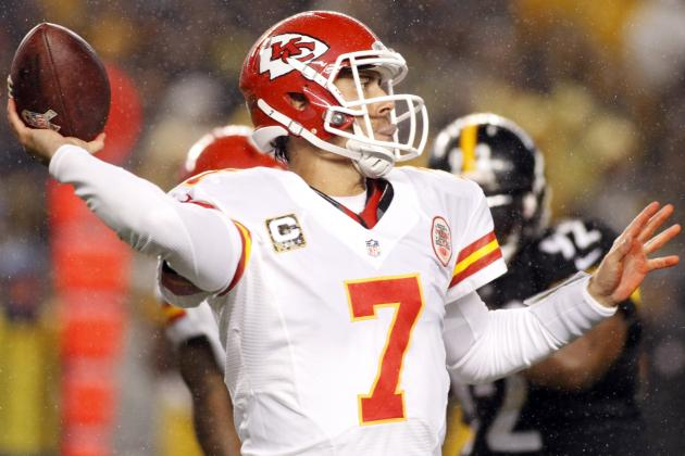 Chiefs' Reid: Too Early to Say If Cassel Will Stay in KC