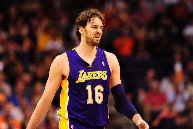 Pau Gasol's Untimely Injury Will Prevent Lakers from Reaching Playoffs
