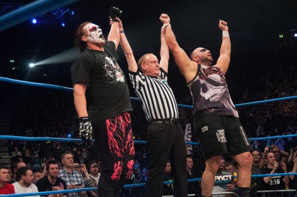 TNA Impact! Wrestling: Bully Ray and Sting Team Up Against Aces and Eights