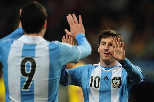 South America Friendly Wrap: Argentina and Ecuador Impress