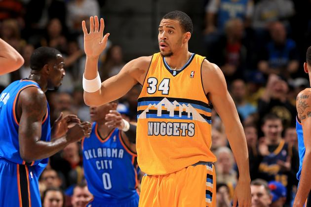 JaVale McGree Throws Down 3 Big Dunks on the Chicago Bulls