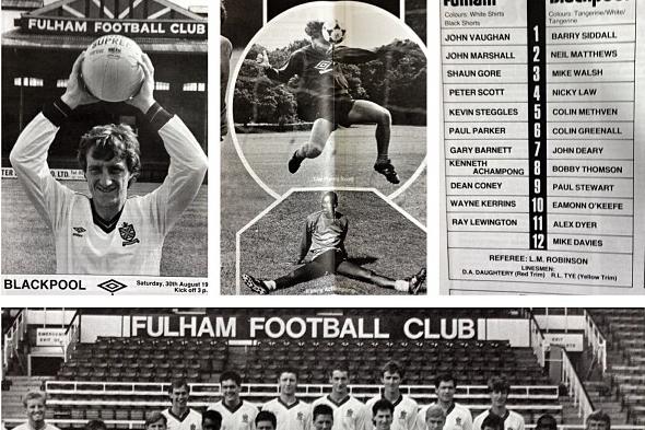 Instagram: 1986-87 Program Throwback