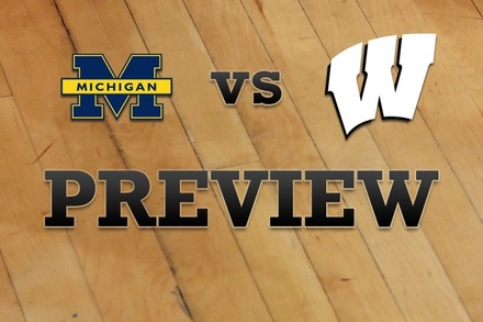 Michigan vs. Wisconsin: Full Game Preview