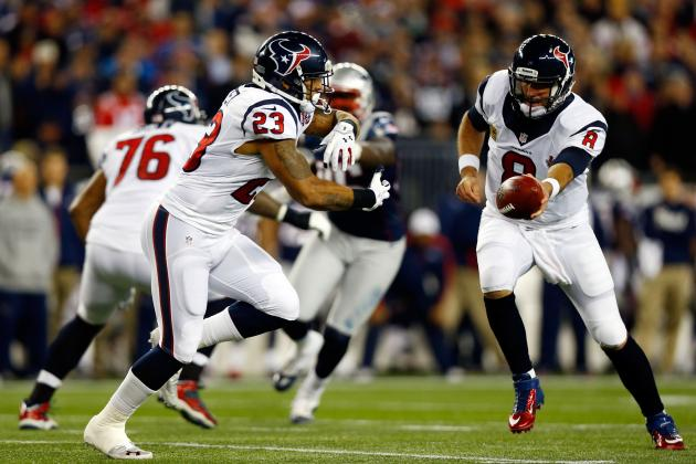 Houston Texans Advanced Stat of the Week: Arian Foster Finds Success